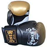 KINGTOP Top King Muay Thai Guantes de Boxeo Super Star tkbgss-01-gd Aire de Oro...